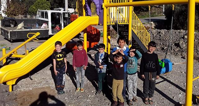 Alatepe de Çocuk Parkı'na Kavuştu