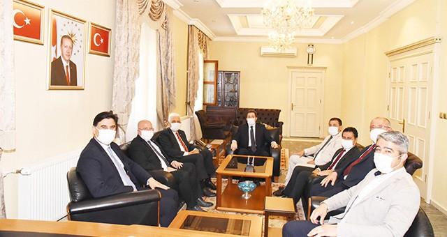 Belediye Başkanlarından Vali Orhan Tavlı'ya hayırlı olsun ziyareti