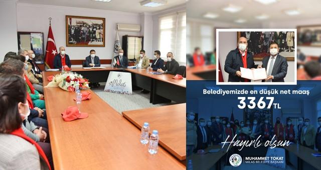 Milas Belediyesi'nde en düşük personel maaşınet 3367 TL oldu