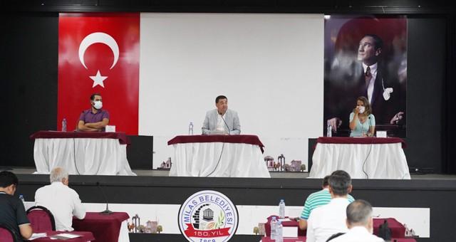 Milas Belediyesi Olağan Meclis Toplantısı yarın..