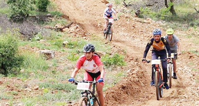Dağ Bisikleti Yarışı Bafa Kapıkırı'nda