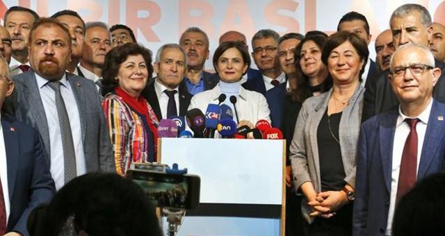 CHP İl Başkanlarından ortak açıklama: Mazbatayı verin!