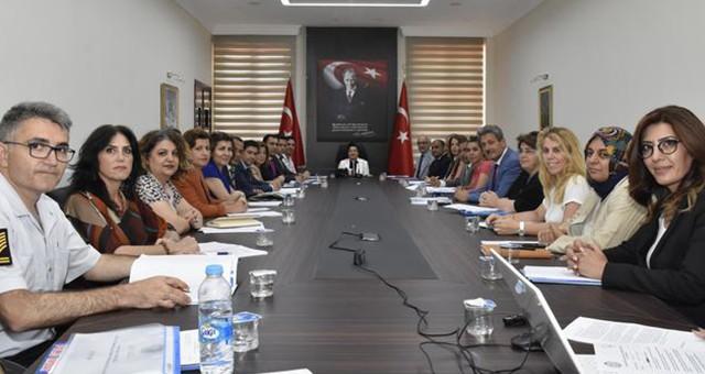 Muğla'da Kadına Yönelik Şiddetle Mücadele İl Koordinasyon  İzleme ve Değerlendirme Toplantısı Düzenlendi