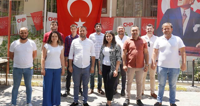 CHP Milas İlçe Gençlik Kolları'nda görev değişimi…