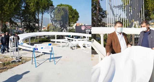 Başkan Tokat, Şehitlik Anıtı çalışmalarını yerinde inceledi