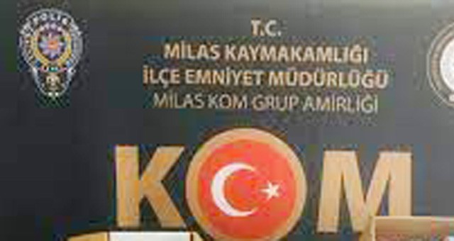 Milas'ta tefecilik operasyonu: 16 gözaltı