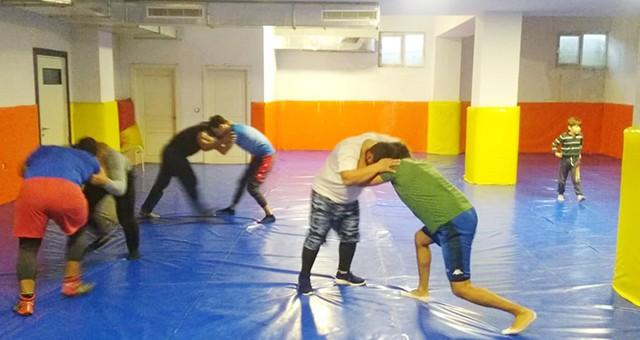 Milaslı Güreşçiler Antrenmanlara Başladılar