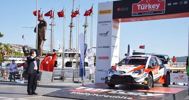 Ralli Şampiyonası Marmaris'te yapıldı