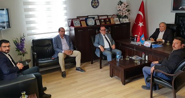 MHP ilçe teşkilatından STK'lara ziyaret…
