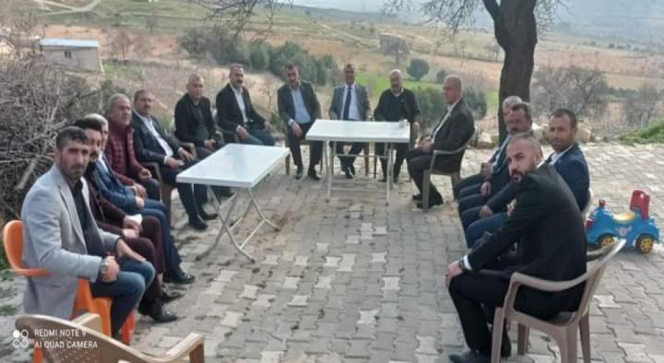 Mhp Kilis İl Başkanı Demir'in Mahalle Ziyaretleri Sürüyor