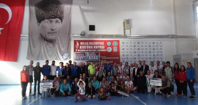 4 Veteran Voleybol takımı Muğla'da buluşuyor  Son Şampiyon Milas Belediyespor