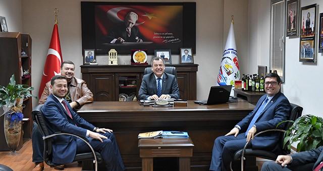AKP İlçe yönetimi ve başkan adayından STK'lara ziyaret…