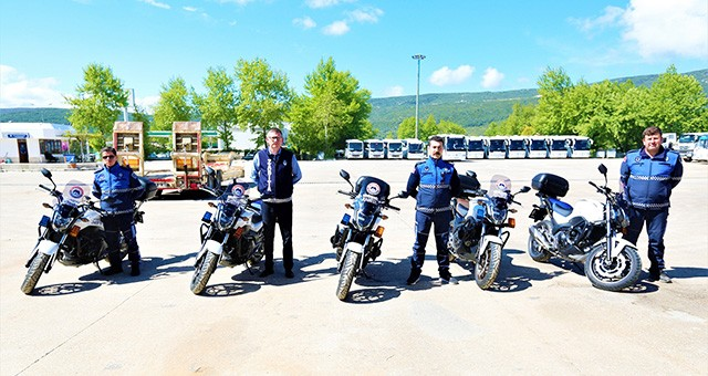 Büyükşehir Zabıtası'na motorize destek