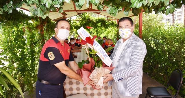 Başkan Tokat, İtfaiye Haftası'nı kutladı