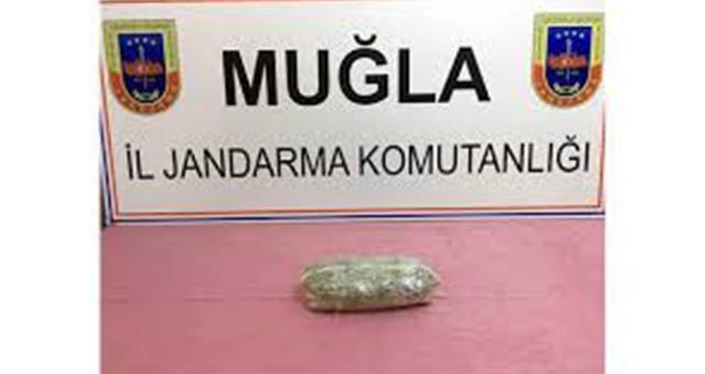 Güllük'te uyuşturucu operasyonu…