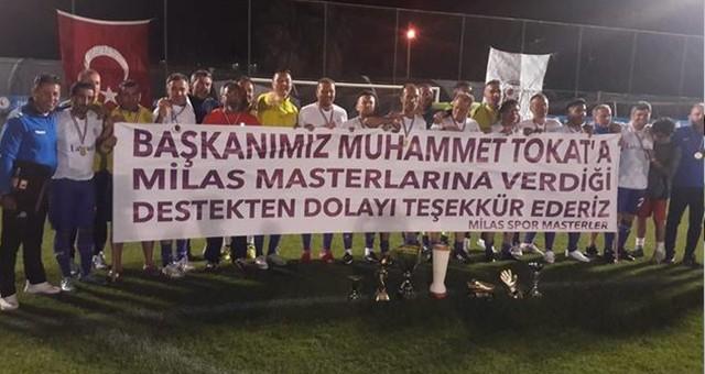 Antalya Şampiyonu MilassporMasterler