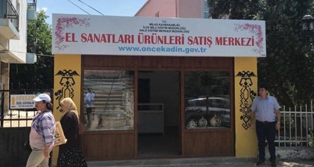 Türkiye'nin ilk kadın mağazası Milas'ta açılıyor