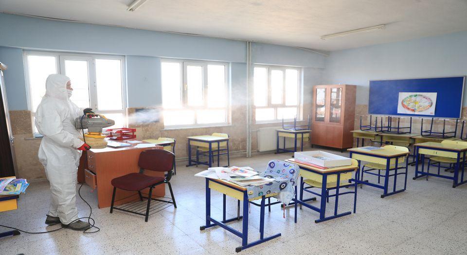 Pamukkale'de Okullar Öğrenciler İçin Hazırlanıyor