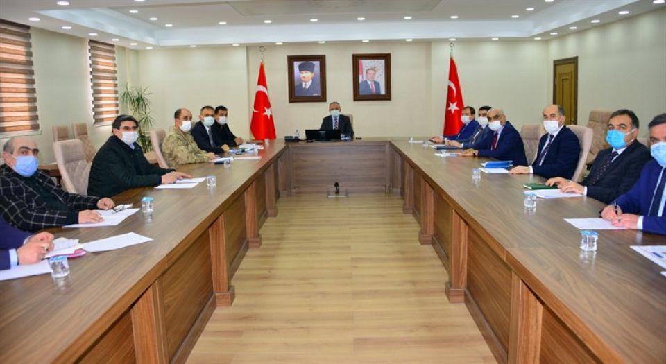Yüksek Riskli İl Ardahan'da Tedbir Toplantısı