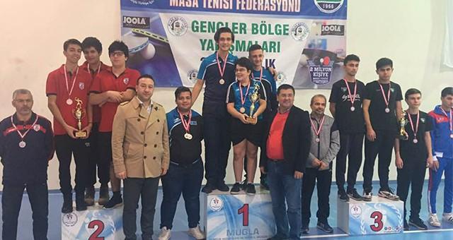 Milas Masa Tenisi Şampiyonlarını Ağırladı