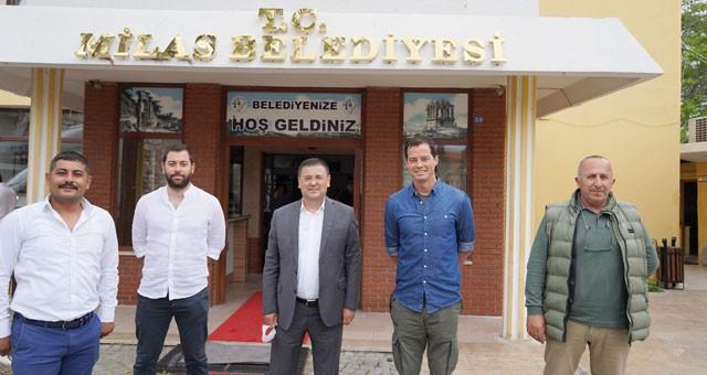 Ünlü Sunucu Alp Kırşan'dan Başkan Tokat'a ziyaret