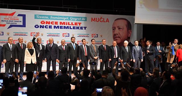 AKP Muğla adaylarını tanıttı