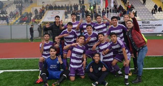 Yeni Milasspor U19 Grup Şampiyonu Oldu