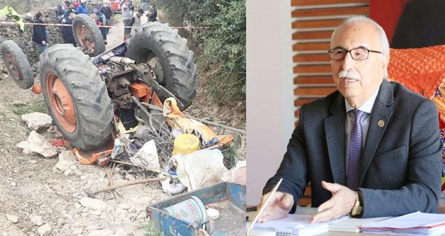 Başkan Atıcı, traktör kazalarına karşı uyardı
