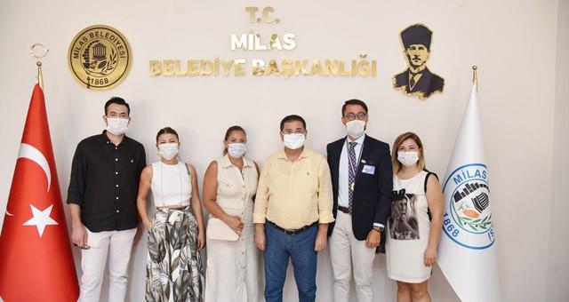 Mylasa Rotary Klübü Başkan Tokat'ı ziyaret etti