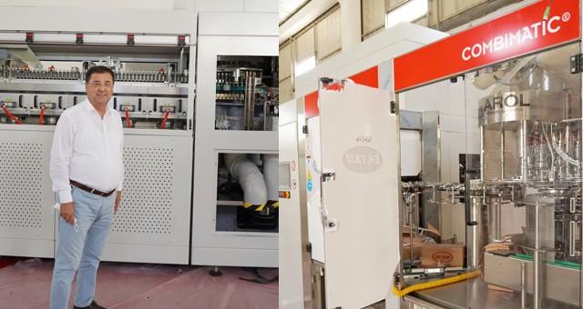 Labranda'nın yeni makinelerinin montajı başladı