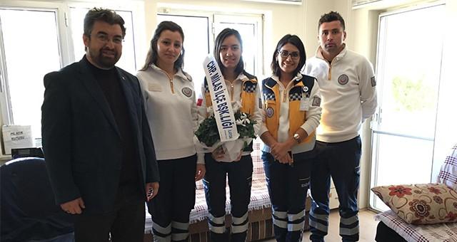 CHP İlçe Örgütü'nden 112 çalışanlarına ziyaret…