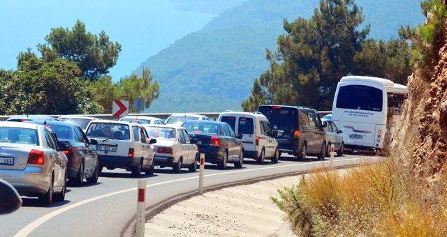 Muğla'da toplam araç sayısı 513 363'e ulaştı