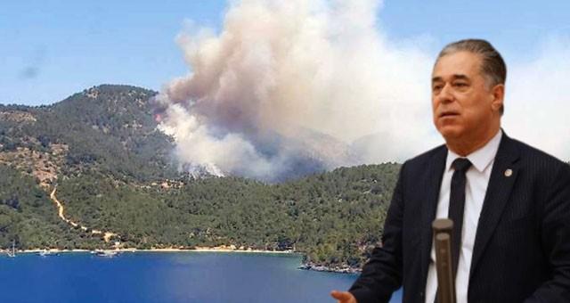 Mevsimin ilk büyük orman yangını, Çökertme'de çıktı