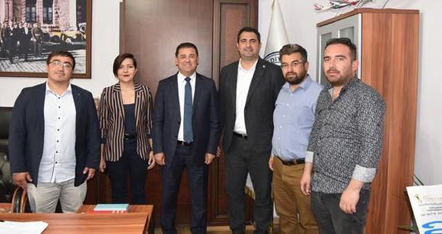CHP Ortaca yönetiminden, Başkan Tokat'a Hayırlı Olsun Ziyareti