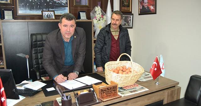 'Gezen tavuk köy yumurtası' projesi için protokol imzalandı…