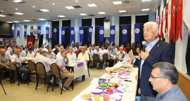 Başkan Gürün, Milas'ta Muhtarlarla bir araya geldi