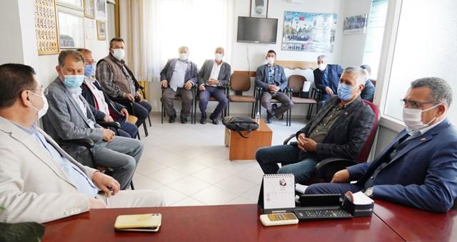 Başkan Tokat'tan bir dizi ziyaret