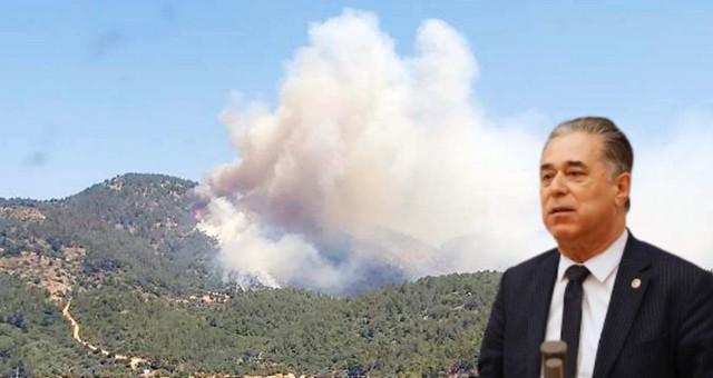 CHP'li Özcan, orman yangınları ile ilgili meclis araştırması istedi!