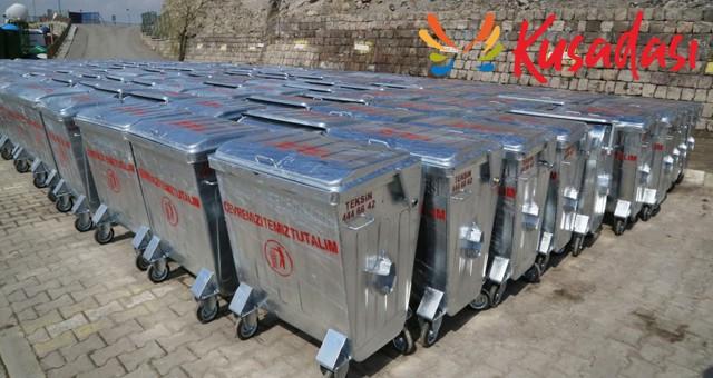 Çöp konteyneri ve çöp sepeti satın alınacaktır