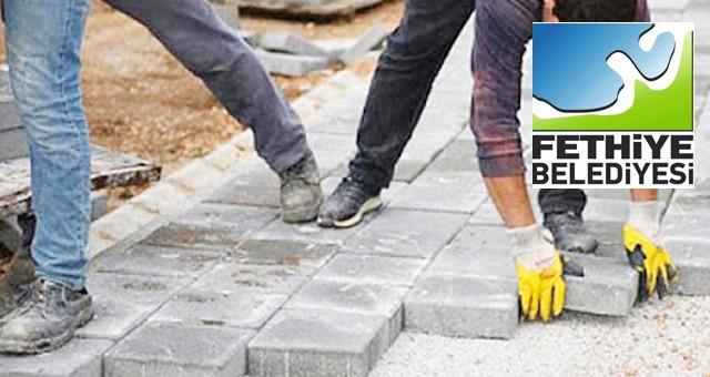 Yol ve kaldırımlara beton parke döşenmesi işi yaptırılacaktır