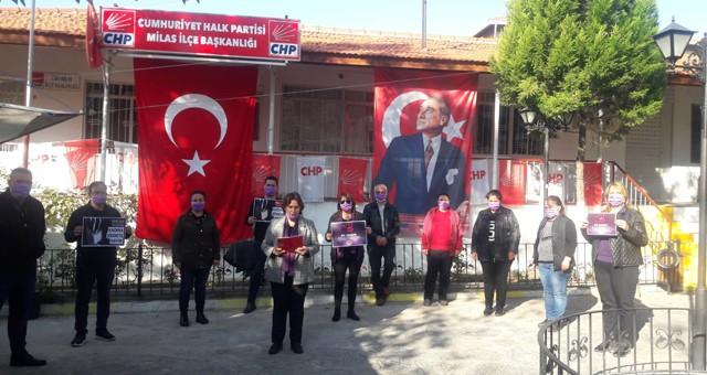 """""""25 Kasım Kadına Yönelik Şiddete Karşı Uluslararası Mücadele veDayanışma Günü"""" Nedeniyle CHP Kadın Kolları'nın Açıklama:"""