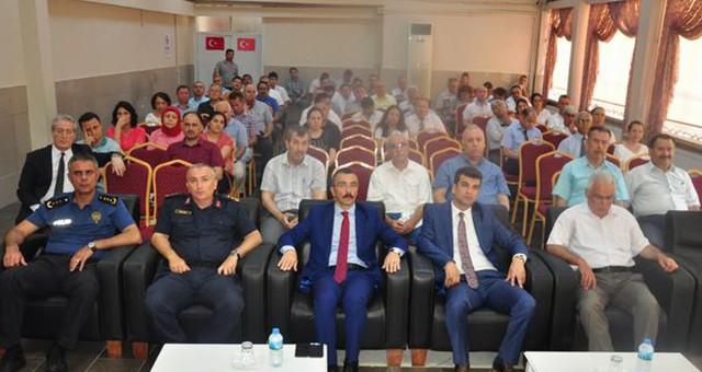 Yılın son 'Güvenli Okul Toplantısı' Yapıldı