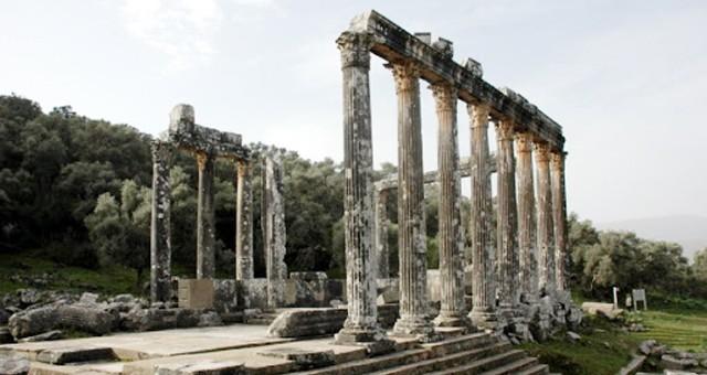 Euromos Antik Kenti için hazırlanan destek protokolü imzalandı