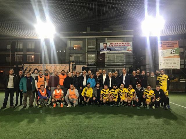 Atatürk Futbol Turnuvası Başladı