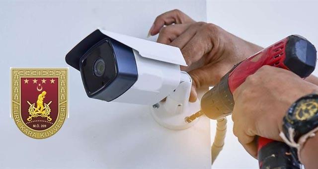 Kamera ve dedektör kurulum işleri yaptırılacaktır
