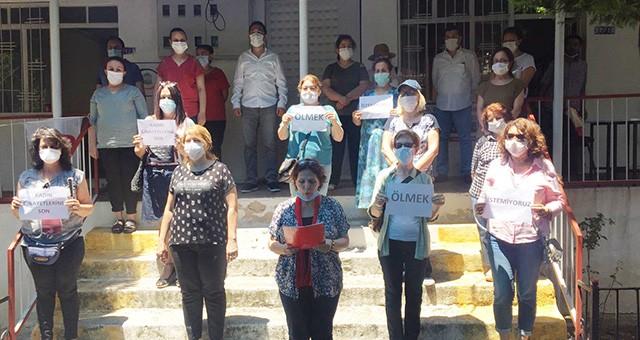 CHP Kadın Kolları'ndan basın açıklaması