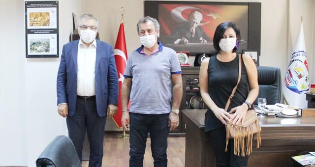 Vakıfbank Milas Şubesi Müdürü MİTSO'da...