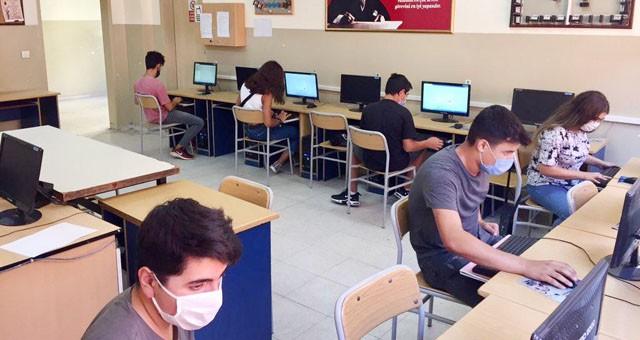 Uzaktan eğitim erişimi olmayan öğrencilere EBA destek noktaları oluşturuldu