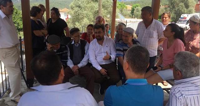 CHP İlçe Örgütü Kömür Nedeniyle Boşaltılması İstenen Ekizköy'de…