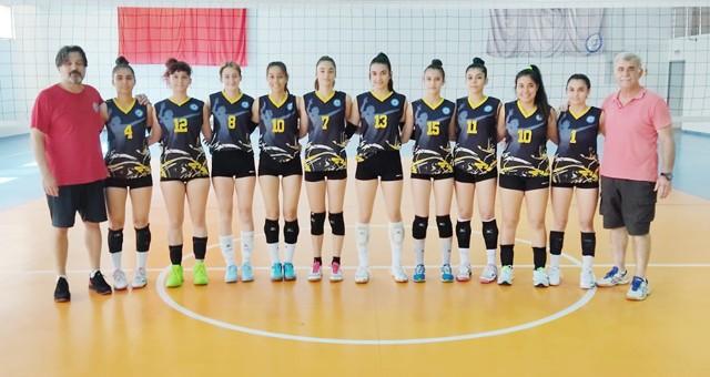 Milas Belediyespor Kız Voleybol Takımı Bölgesel Lig'de